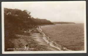 Postcard Wootton near Newport Isle of Wight view of Woodside posted 1945 RP