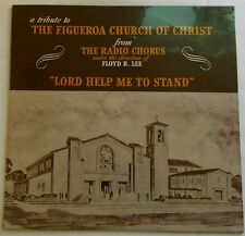 "VINTAGE ""LORD HELP ME TO STAND"" FROM THE RADIO CHORUS, DIRECTED BY FLOYD B. LEE"