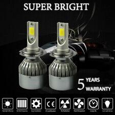 H7 Car LED Headlights Conversion Kit Headlamp Fog lights 6000K White Hi/Lo Beam