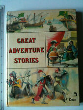 Great Adventure Stories vintage anthology HISTORY / EXPLORERS / CLASSIC TALES