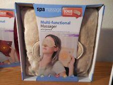Spa Massage Pillow massage w/Eye Mask Multi-functional pillow Body massager