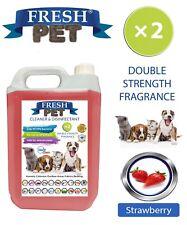 Fresh Pet Niche Chien Désinfectant Double Force Parfum - 5L Fraise