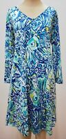 """New Lilly Pulitzer Women's Erin Dress """"After Party,"""" Large"""