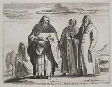 MOSKAU PRIESTER PIETER VAN DER AA 1715 RUSSIA московское духовенство в 18 веке