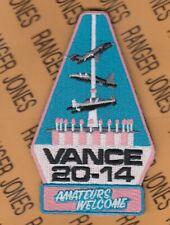 "USAF Air Force Vance AFB 20-14 Flight Training Sq FTS 4"" patch w/ Hook m/e"