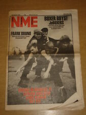 NME 1983 JAN 29 FRANK BRUNO JOBOXERS RANDY NEWMAN