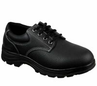 Skechers Black shoes Memory Foam Work Men's Comfort Slip Resistant EH Safe 77186