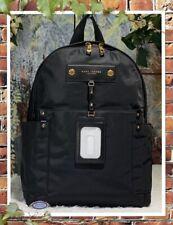 Marc Jacobs Preppy Nylon Backpack,Large - Black