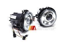 Chrome Projector Headlights Lamps RHD for 1986-2009 Mercedes W463 G-Wagon