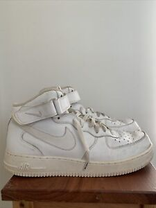 Nike Air Force 1 Mid white '08 size US 10