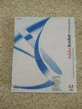Adobe Acrobat 7.0 Standard for Windows NEW AND SEALED