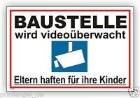 Schild,Individuell,videoüberwachung,videoüberwacht,video,Kamera,Warnschild, Vi84