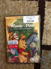 Winnie the Pooh - A Very Merry Pooh Year (DVD, 2013, Includes Digital Copy)