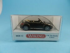 WIKING 02802 VW THE BEETLE CABRIO 1:87