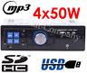 Car Autoradio MP3/USB/SD/AUX-IN FM Radio Player für Amplifier DE