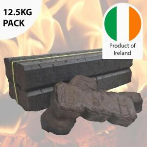 Peat Briquettes Long Burning Premium Compressed for Stove Fires Heat Log Burners