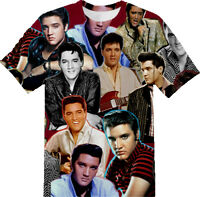 Elvis Presley T-SHIRT Photo Collage shirt