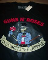 VINTAGE STYLE GUNS N ROSES Welcome To The Jungle T-Shirt LARGE Band NEW w/ TAG