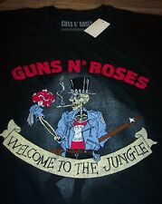 VINTAGE STYLE GUNS N ROSES Welcome To The Jungle T-Shirt XL Band NEW w/ TAG
