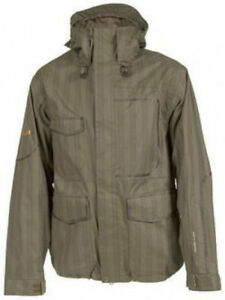 VOLCOM Men's DELIVERANCE Snow Jacket - Brown - Size Small - NWT
