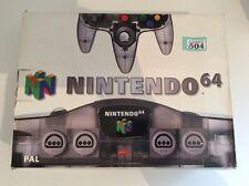 nintendo 64 N64 Funtastic Smoke Grey Console Boxed