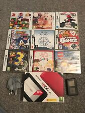 Nintendo 3DS XL 4gb Memory Card - 13 Games  - Red And Black