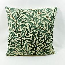 William Morris Willow Bough Vert 43.2cmx43.2cm Complet Avec Coussin Coussinet