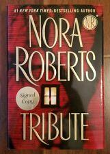 Tribute Tapa Dura HC Libro Firmado Copia Edición Nora Roberts