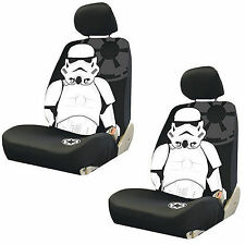 Star Wars Stormtrooper Low Back Seat Cover Auto Car Truck SUV Vehicle Accessory