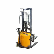 Brand New 11.5 Feet Semi Electric Pallet Stacker Lift Forklift 4400 lbs