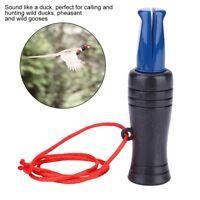Blue Duck Pheasant Mallard Hunting Call Whistle Caller Decoy Outdoor Shooting BD