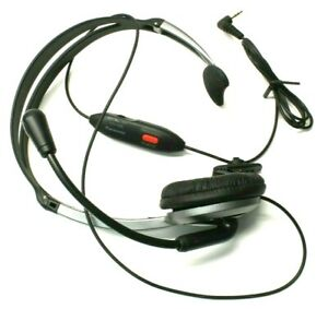Original Panasonic KX-TCA430 Over-the-Head Headset for Cordless Phone Handset