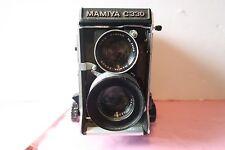 Mamiya C330 Pro Medium Format TLR Film Camera with 80mm Lens