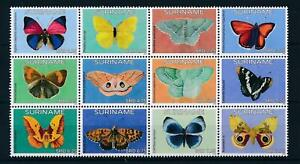 [SU2085] Suriname Surinam 2015 Butterflies  MNH