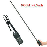 Abbree Fodable Tactical Antenna SMA-Female For Baofeng UV-5R/82 Two Ways Radio