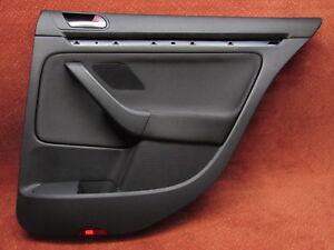 Pannello Porta Rivestimento Posteriore Destra Tessuto Nero VW Golf VI 6 Variant