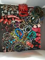 Over 70 Items Vintage And Now Jewelry All Wearable