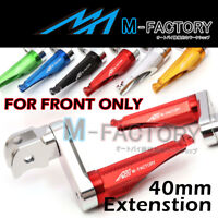 40mm Extend Front Adjustable Foot Pegs For Yamaha MT-07 13 14 15 16 17 18