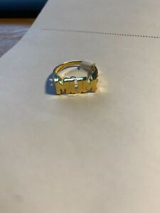 9ct Yellow Gold on Silver MUM / NAN Ring - Sizes Available
