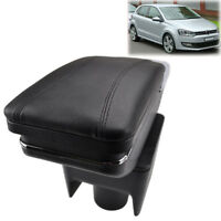 Arm Rest Rotatable For 2010-2017 VW Polo Vento Storage Box Armrest
