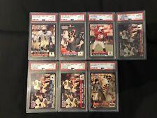 1991 Pro Set Draft Day 7 Card Set - 6 PSA 10 & 1 PSA 9 - #1 PSA Graded Set