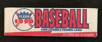 1990 Fleer Baseball Factory Sealed Set MINT in Box w/ 672 Cards and 45 Stickers