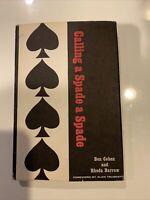 Calling a Spade a Spade, Novel by Ben Cohen 1965