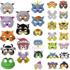 1PC EVA Foam Cartoon Animal Mask For Kids Birthday Party Favors Christmas Gift