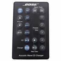 (Defective) Bose-Acoustic Wave CD Changer Remote Control White Original