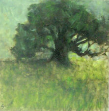 TRUJILLO Impressionist listed Art Contemporary Modern abstract collectable tree