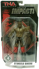 Official TNA Impact Wrestling Deluxe Impact 4 The Pope Figure * Hand Signed *