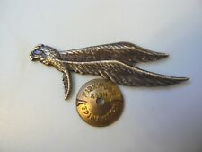 #698 POLAND POLISH WWII EXILE PARA WINGS BADGE, #3500, rare