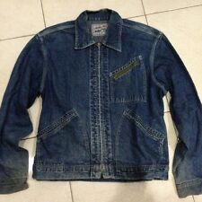 "Vintage SUGAR CANE ""BIG E COWBOY"" denim jeans jacket size L"