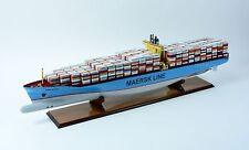 "Emma Maersk E-Class Container Ship 48"" - Handmade Wooden Ship Model - RC Ready"